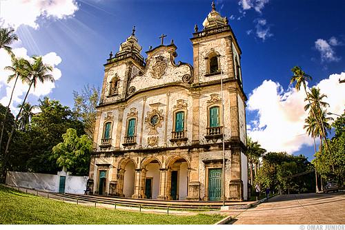 Igreja de Nossa Senhora dos Prazeres dos Montes Guararapes - Jaboatão dos Guararapes / PE