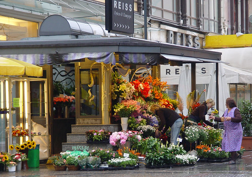 flowershop in the morning