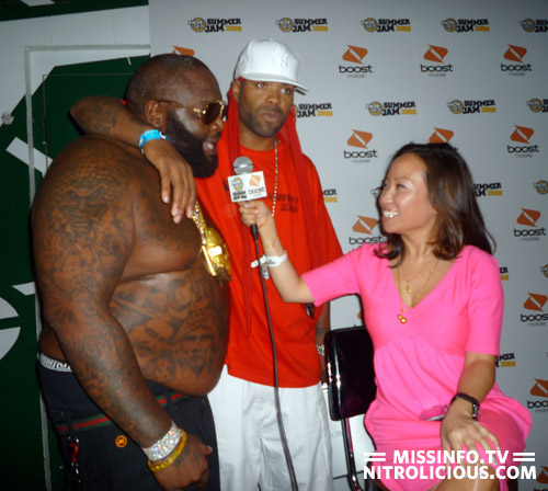 Miss Info Exclusive Rick Ross addresses 50 Cent