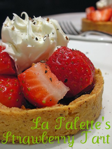 la palette's strawberry tart