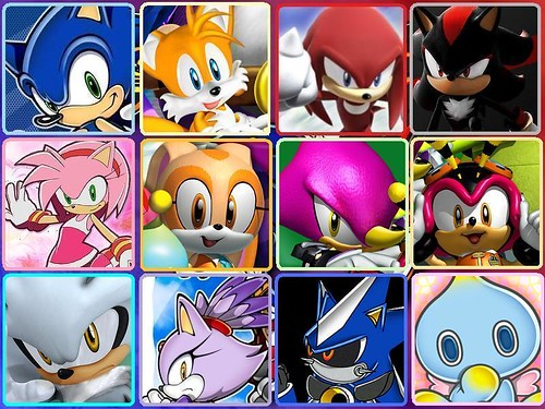 All+sonic+the+hedgehog+characters