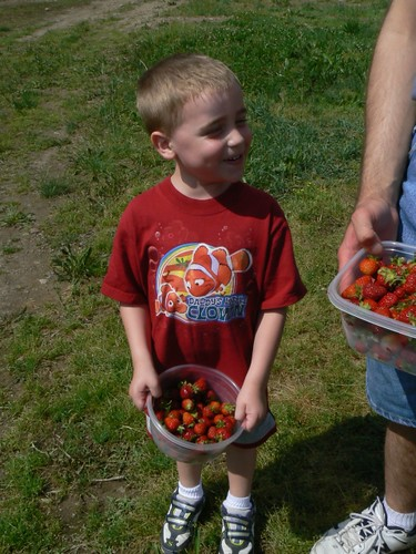 Mom look what I picked!