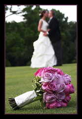 bouquet of roses (Dailyville) Tags: wedding roses couple colorful marriage bouquet brideandgroom dailyville impressedbeauty