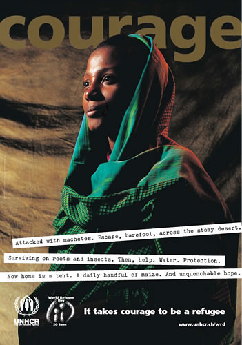 Refugee Poster- UNHCR