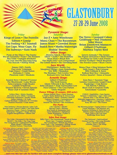 glastonbury bill