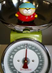 Cartman, the weigh in. ([ Kane ]) Tags: art lens brisbane southpark utata qld kit kane cartman 1855 ip gledhill 400d utata:color=black kanegledhill utata:project=ip51 ironphotgrapher51 humanhabits wwwhumanhabitscomau kanegledhillphotography