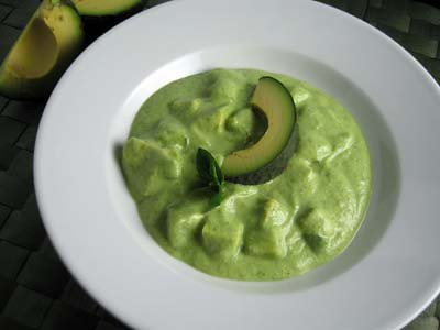 Cucumber Avo Soup
