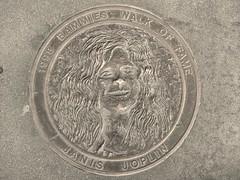 1998 Bammies Walk of Fame: Janis Joplin (Franco Folini) Tags: sf sanfrancisco california ca music usa bronze america photography us photo foto creativecommons musica awards fotografia walkoffame janisjoplin bammies billgrahamcivicauditorium immagine bronzo francofolini folini creativecommonsattributionsharealike bayareamusicaward bammieswalkoffame 1998bammies