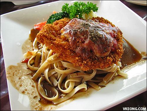 chicken pramigiana