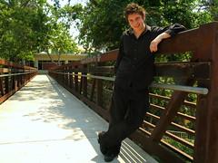 Vinnie (youneverknowphotography) Tags: park bridge trees portrait black graffiti photoshoot library
