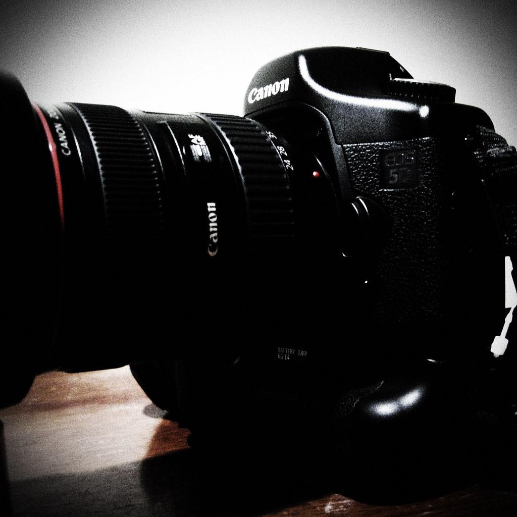 Canon 5D overhauled