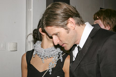 Crispin Glover and Mara LaFontaine