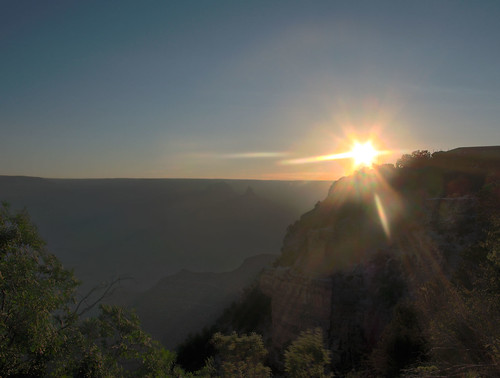 Grand Canyon Sunrise HDR