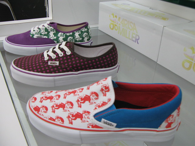 MM Vans Monkey Print by rackedla