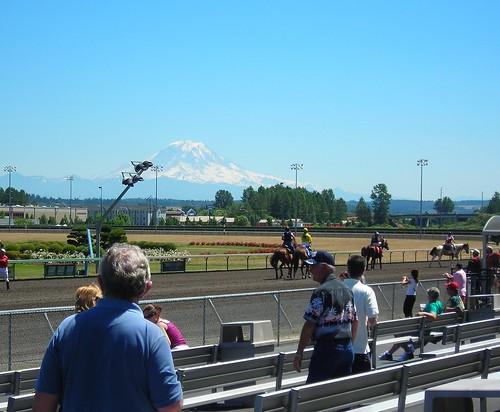 Horses and Rainier