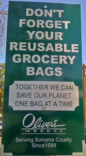 Contrary to popular belief, reusable bags will not save the planet.