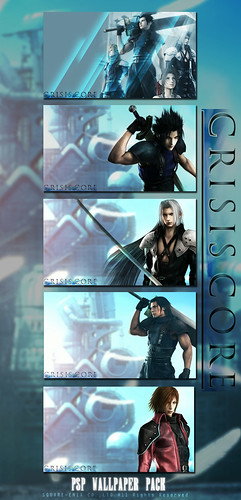 crisis core wallpapers. Crisis Core: PSP Wallpaper