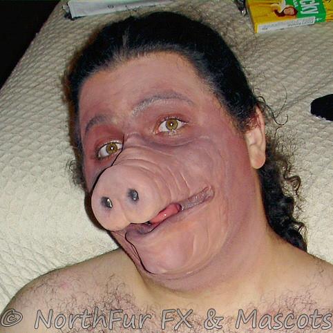 small pig muzzle
