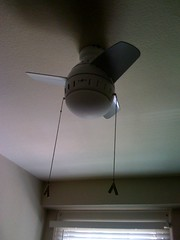 no AC, only a fan