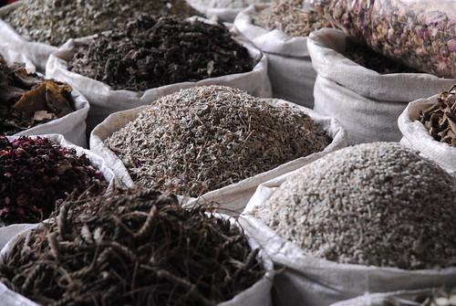 spice market in Deira, Dubai old town