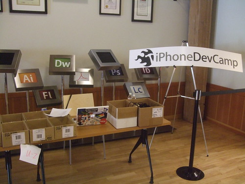 iPhone Dev Camp entrance