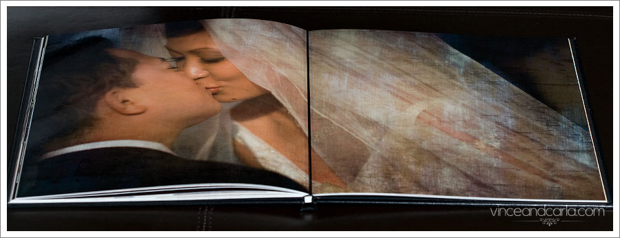 wedding album storybook los angeles photographer california coffeetable book coffee table