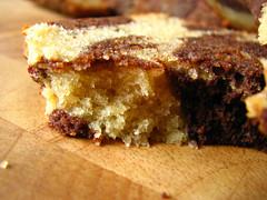 Black and White Banana Loaf (Bougi) Tags: food recipe chocolate bananas homemade rum marbling doriegreenspan loafcake tuesdayswithdorie