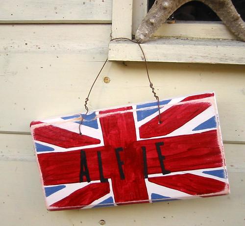 Union Jack Sign