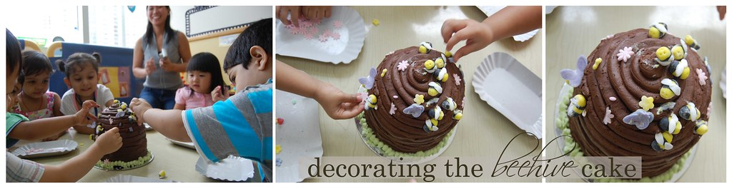 Cake Decorating with the Toddlers