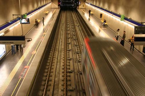 Santiago metro...
