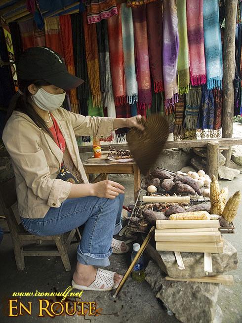 Cat Cat Village Vendor