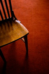 chair on carpet (xgray) Tags: wood light shadow orange brown color digital canon austin carpet eos wooden chair rust university texas floor wideangle universityoftexas redorange utc reddish efs1022mmf3545usm uploadx 40d universityteachingcenter postedtophotographersonlj postedtobehindthelensonlj epiceditsselection xgv08 top2008