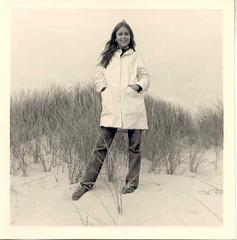 Woman standing, Sept 1967