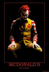 The Dark Knight: I'm loving it! (cifra2 a.k.a Jesus Alonso) Tags: dark heath roland joker knight spoof mcdonald ledger