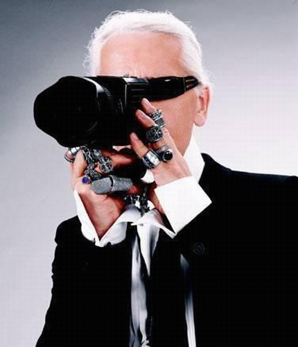 karl lagerfeld photography. KARL LAGERFELD PHOTOGRAPHER