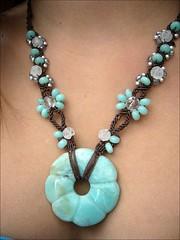 Emilia - macrame necklace