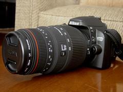 Nikon D60 & Sigma AF 70-300mm f/4-5.6 APO DG Macro (CAUT) Tags: camera nikon sigma filter dslr sigmalens nikond60 apodg sigmaaf70300mmf456apodgmacro hoya58mm