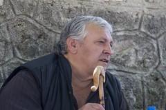 People @ Kalarrytes III - 20080820_0151ed (Dimitris Papazimouris) Tags: portrait people face greek village greece pindos canon30d vlachos canon24105f4 tzoumerka kalarrytes