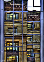 Reflections of Glasgow (1) (Shuggie!!) Tags: reflection architecture reflections scotland williams glasgow karl hdr explored abigfave amazingamateur elitephotography novavitanewlife karlwilliams