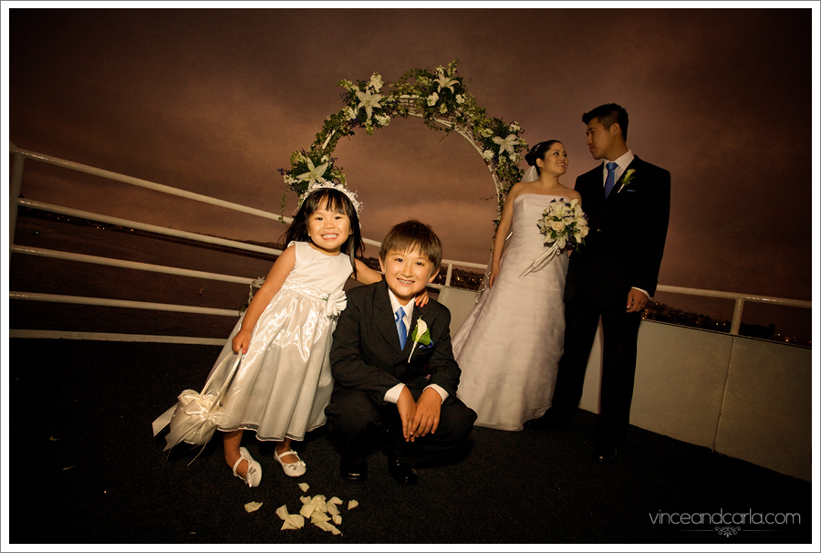 kids and couple