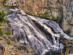 Gibbon Falls - 278/365 (judy_n) Tags: usa wyoming absolutelystunningscapes