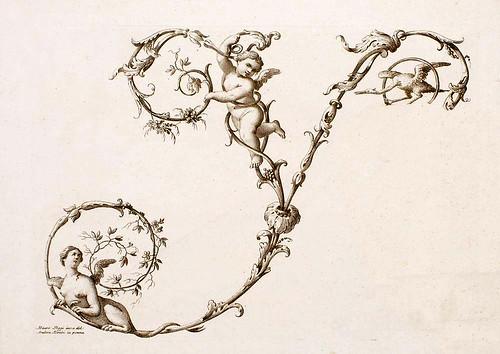 27- Letra Y-Poggy Mauro 1750- Alfabeto di lettere iniziali