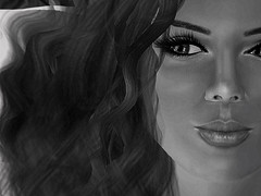 slow flow (El Greene) Tags: beauty female hair model avatar sl secondlife