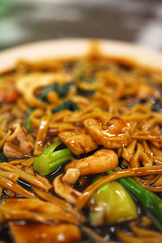 Fried Hokkien noodles - DSC_9663