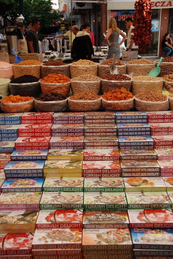 Selcuk逛菜市場