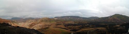 Rhyolite hills