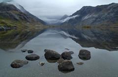 Loch Coruisk (Niall Corbet) Tags: mist reflection skye island scotland loch isle coruisk