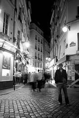 "Paris ""nuit Blanche"" - 4 oct - St Michel (nini_filippini) Tags: paris night bp baladesparisiennes"
