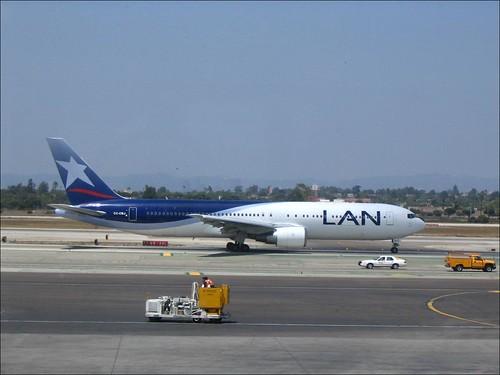 Boeing 767 Lan au taxi