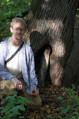 Matt with the geocache